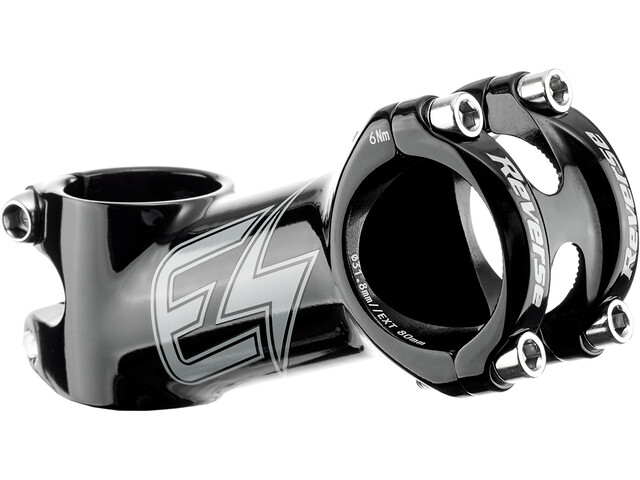 Reverse E-XC Stem Ø31,8mm 20° black/grey